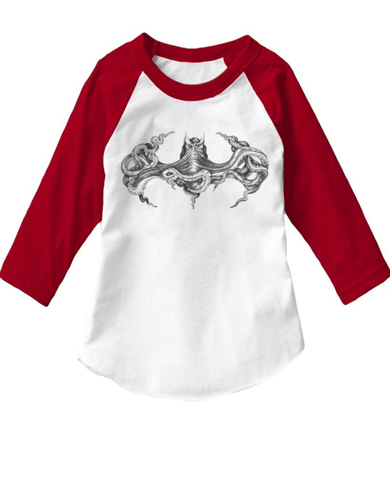 Toddler | Octopus Batman | Raglan