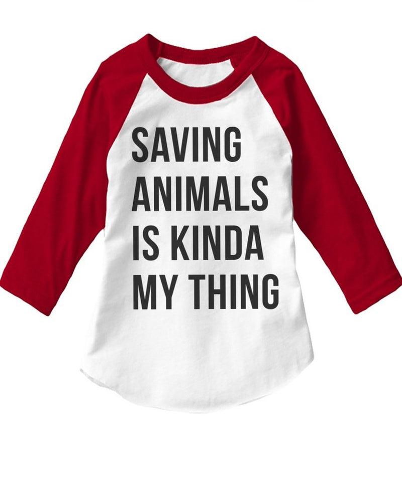 Toddler | Saving Animals | Raglan