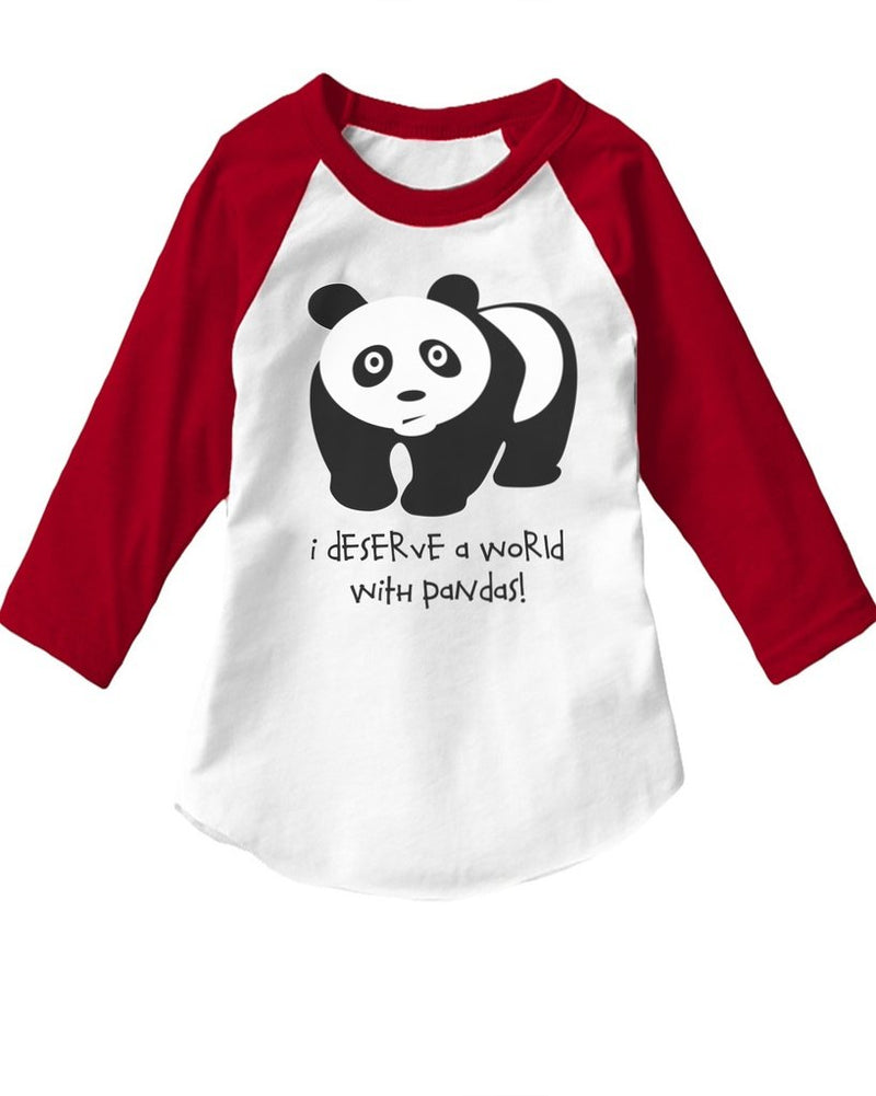 Toddler | Panda | Raglan