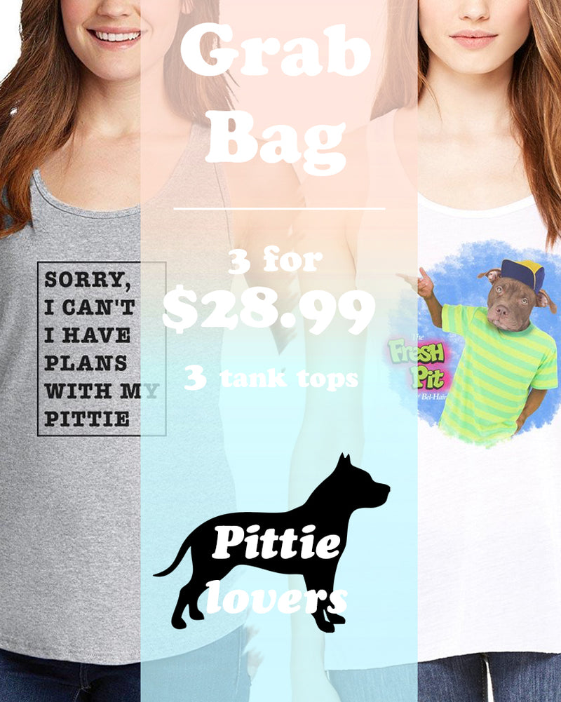 Women's | ATA Pit Bull Ideal Tank Top | Grab Bag