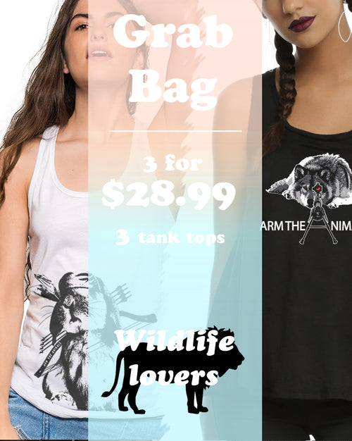 Women's | ATA Wildlife Ideal Tank Top | Grab Bag