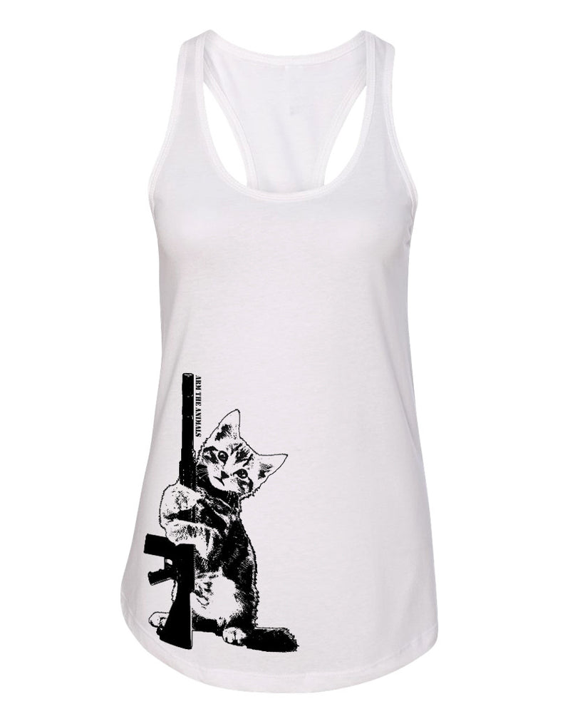 Women's | Ain't Kitten Around | Ideal Tank Top
