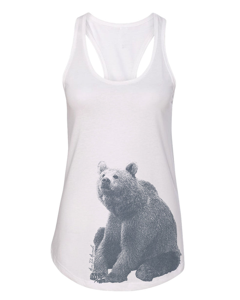 Women's | Grizzled King | Ideal Tank Top
