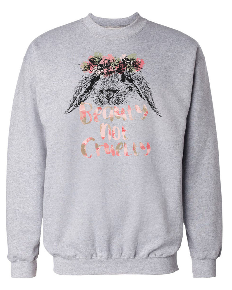 Women's | Beauty Not Cruelty | Crewneck Sweatshirt