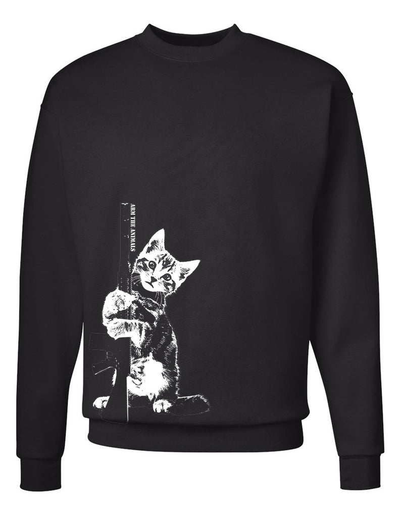 Men's | Ain't Kitten Around | Crewneck Sweatshirt