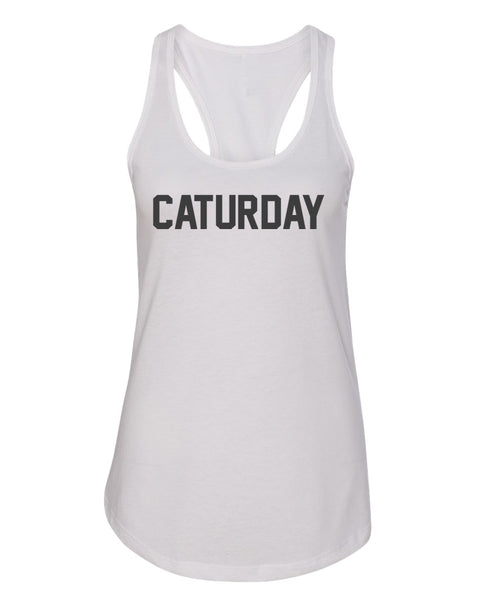 Women's | Caturday | Ideal Tank Top