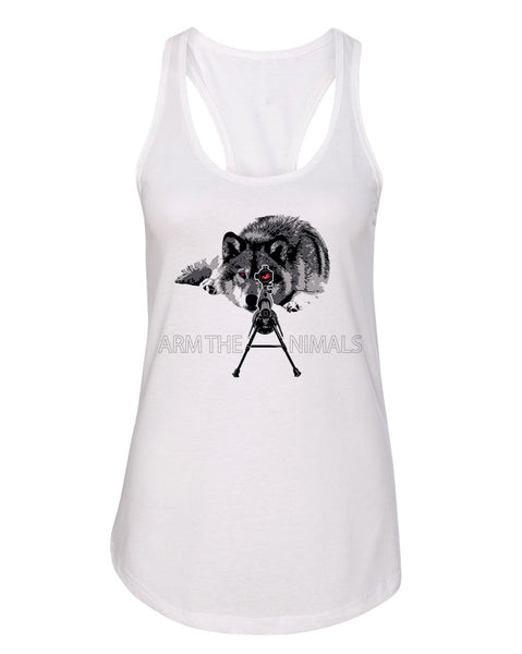 Women's | M-16 Wolf Arctic Warfare | Ideal Tank Top
