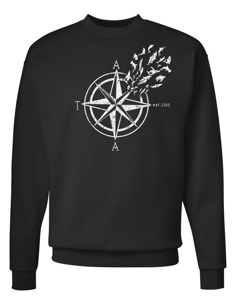 Men's | Nautical Compass | Crewneck Sweatshirt