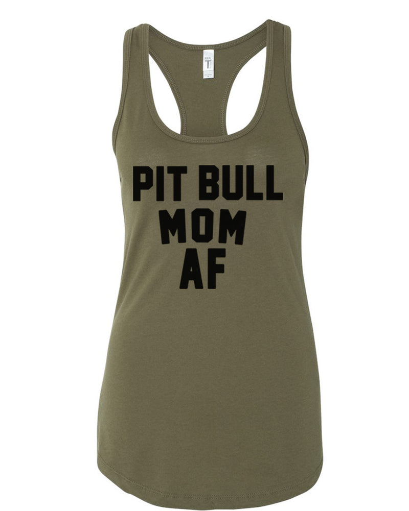 Women's | Pit Bull Mom AF | Ideal Tank Top