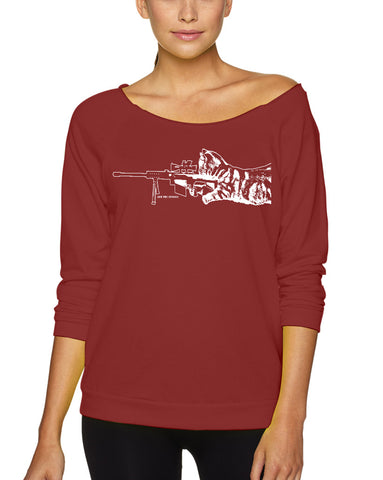 Women's | Scout Sniper | Lightweight Off The Shoulder Raw Edge