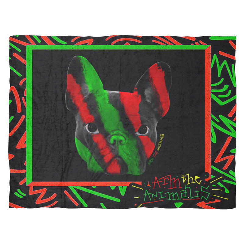 ACCESSORY | TRIBE CALLED FRENCH | FLEECE BLANKET