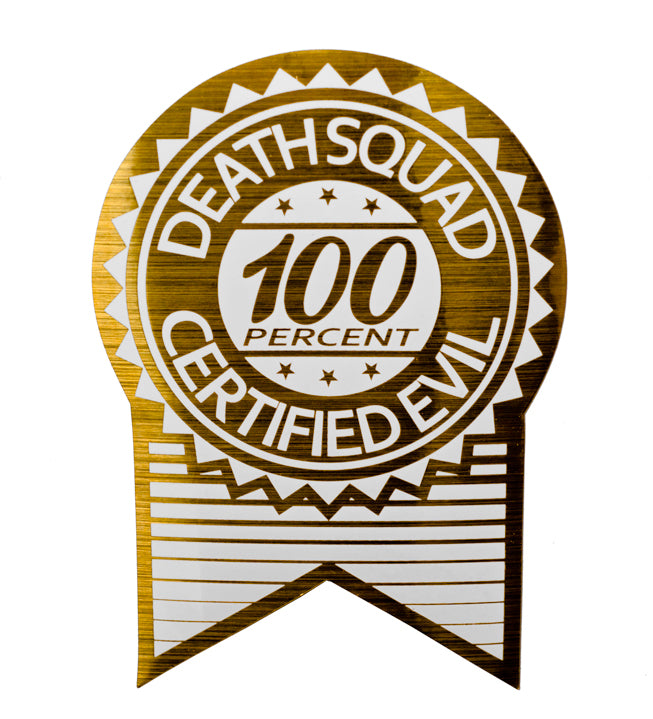 100 certified evil sticker by death squad automotive styling death squad automotive styling