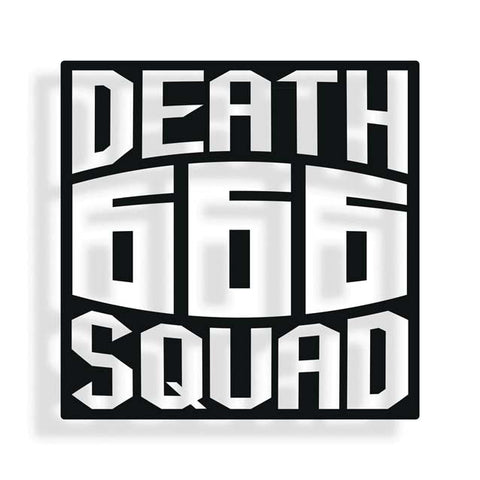 Death Squad Square Sticker