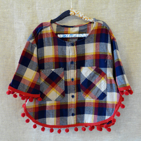 Shirt Poncho - small/medium