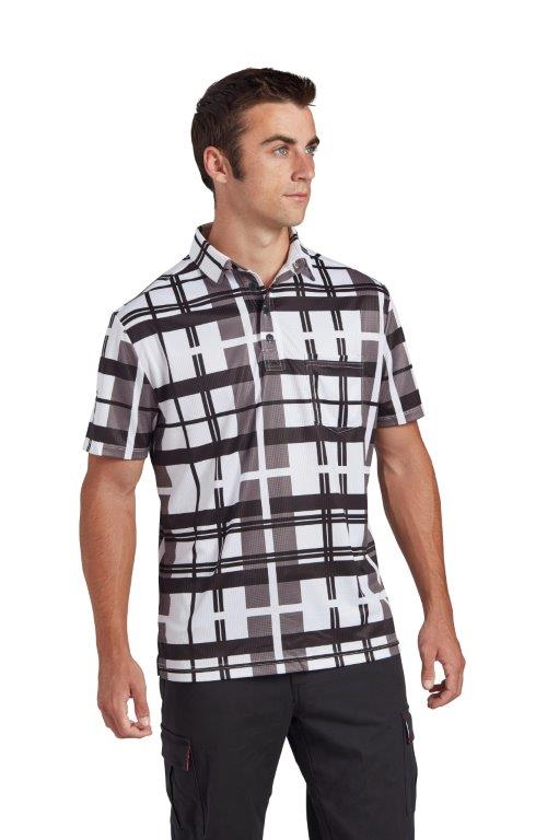 Aukland Plaid Polo