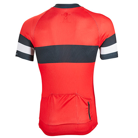 Genova Performance Jersey - Rainier Red