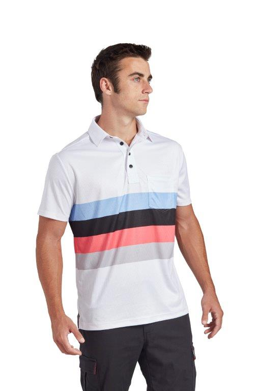 Skye Polo - White