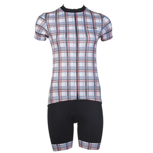 Women's Plaid Race Short