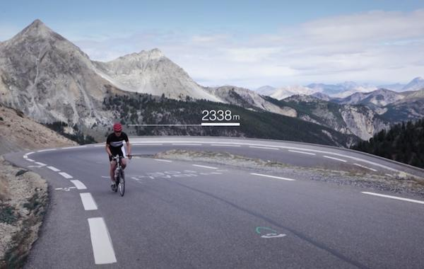 Ascent of Col d'Izoard