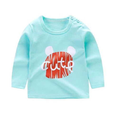Toddler Girls Clothes Cotton Long Sleeve T-shirts