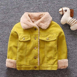 Baby Coat Boys Winter Jackets For Kids Autumn Baby Coats Outerwear Infant 1 2 3 Years Thicken Children Boys Snowsuit Clothes