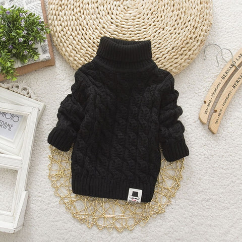 LCJMMO Toddler Girls Sweaters 2020 Winter Warm Kids Boys Sweaters Knit Pullover Baby Girl Sweater Outerwear Clothing 80-105cm