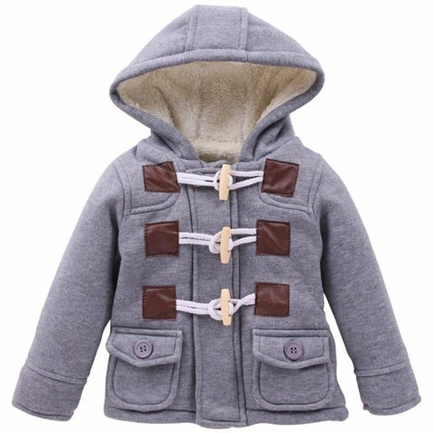 Winter Infant Coat For Baby Boy Jacket 2020 Autumn Unisex Jacket Baby Jacket Kids Warm Wool Outerwear Baby Coat Newborn Clothes