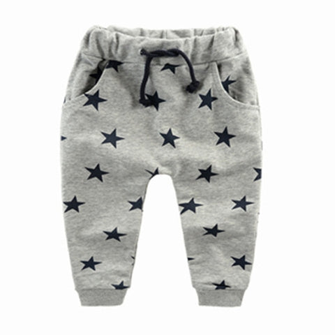 2020 Boys Pants Kids Spring Autumn Clothes children harem pants for baby boy trousers  Size70~140 cotton star fashion toddlers