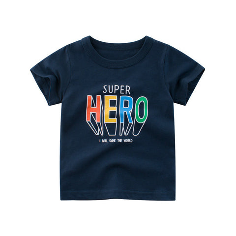 Boys Shirts 2020 New Boys summer T shirts Kids Cartoon T shirt Children t shirts for Boys short sleeve Boys Cotton Shirts