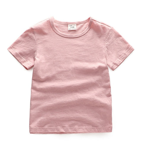 Girls T Shirt Cotton Short Sleeve T-shirts For Boys Tee Girls Tops Children Summer Clothes Baby Sweatshirt Children T Shirts