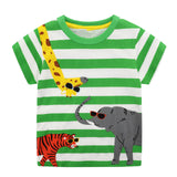 Toddler Boys Animal Print T-Shirts