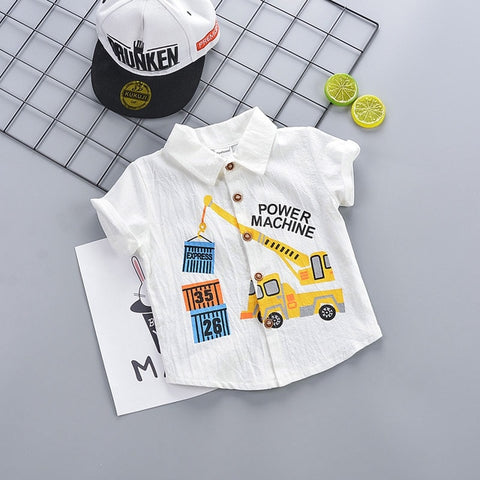 IENENS Kids Baby Boys T-shirt Clothes Clothing Summer Toddler Infant Boy Short Sleeve Tees Tops Cotton T Shirt 1 2 3 4 Years
