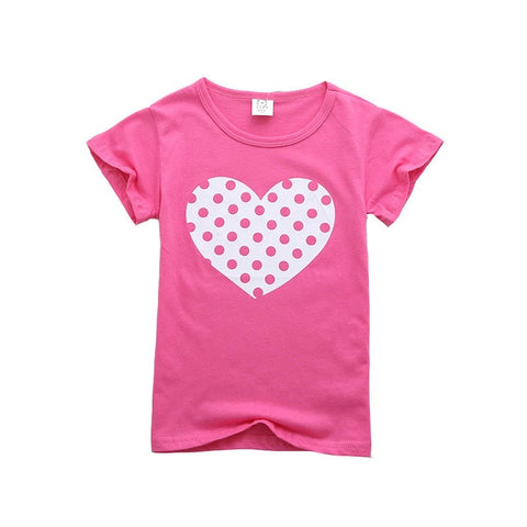 Toddler Girls Assorted Cartoon Print T-Shirts