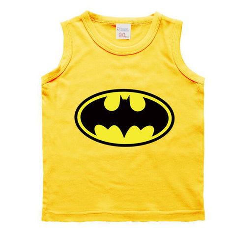 Toddler Girls Assorted Batman Tank Tops
