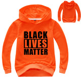 Toddler Girls Black Lives Matter Print Assorted Hoodies