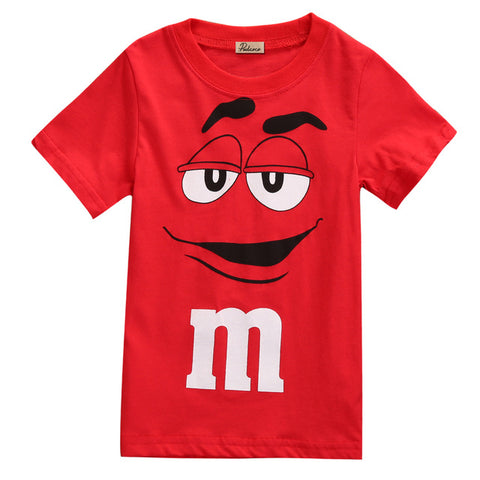 Toddler Girls Red M&M T-Shirt