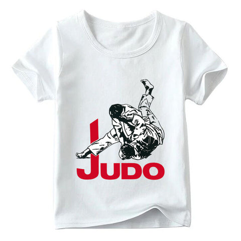 Toddler Boys Judo Print T-Shirt