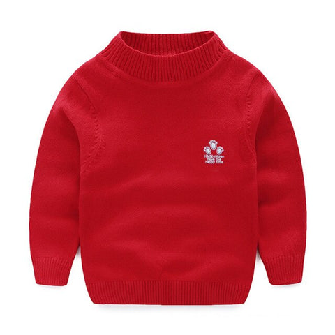 Kids Sweaters And Pullovers Autumn 2019 Casual Toddler Boy Sweater Cotton Warm Knitted Sweater Girls Clothes Children's Cardigan