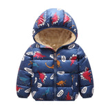 Children Baby Girls Jacket Autumn Winter Jackets For Girls Coat Kids Warm Hooded Outerwear Coat For Boys Jacket Toddler Clothes