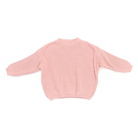 Kaiya Angel Kids Sweater Autumn Winter Solid Cure Clothes Girls Cotton O-Neck One Piece Toddler Casual Blouse Fashion Top Retail
