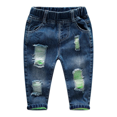 0-6T Baby Jeans Girls Jeans Boys Clothes Boys Pants enfant jean Spring Autumn Stretchy Denim trousers Toddler Clothing clothes