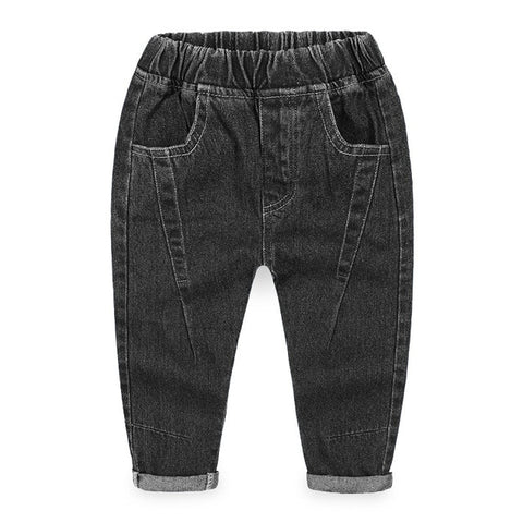 Boys Casual Jeans Trousers Baby Toddler Boy's Denim Pants Kids Children Slim Long Pants Bottoms Clothing 1 2 3 4 5 6Y