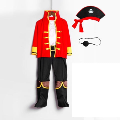 Halloween Costume Ideas - Pirates Costume Toddler Boys Best Christmas Easter Cosplay Costume Party Outfits