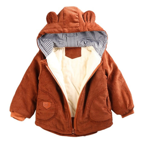 Autumn Winter Jacket For Boys 2020 Toddler Children Jacket Baby Thick Coat Kids Warm Hooded Outerwear Coat For Girls Jacket