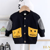 New Spring Autumn Baby Girls Clothes Children Boys Clothing Cotton Jacket Toddler Fashion Casual Costume Infant Kids Tracksuits