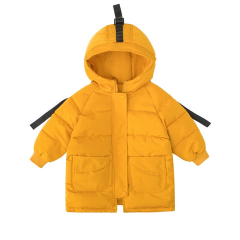 Down Jackets Girls Kids Boys Toddler Coat Children Spring Outerwear Coats Casual Baby Clothes Autumn Winter Parkas for 2-8 Years