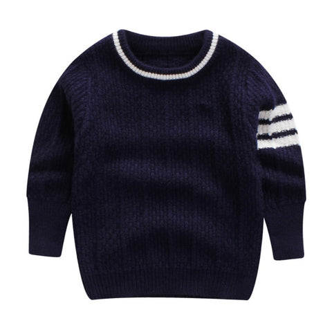 BEKE MATA Children Sweaters For Boys Winter 2018 Knitted Pullover Toldder Boy Sweater Cotton Baby Sweaters Long Sleeve 2-7Y