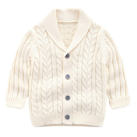 Toddler Baby Girl Boy Autumn Clothes O-Neck Long-Sleeves Sweater Cardigan Cloud Star Patterns Knitted Coat 0-3T#1
