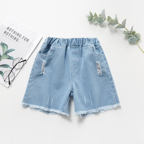 Summer Short Fille Cotton Baby Shorts Knitting Toddler Girls Shorts Kids Baby Girl Casual Short Pants Kids Clothes
