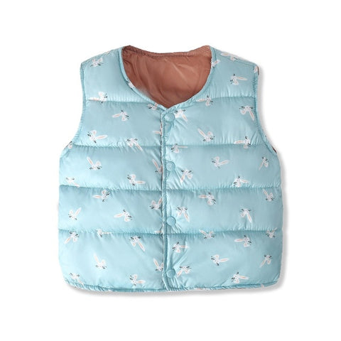 2020 Baby Girl Vest Warm Clothing Baby Winter Waistcost Cardigan Jsckets Coats For Baby Boy 's Clothes